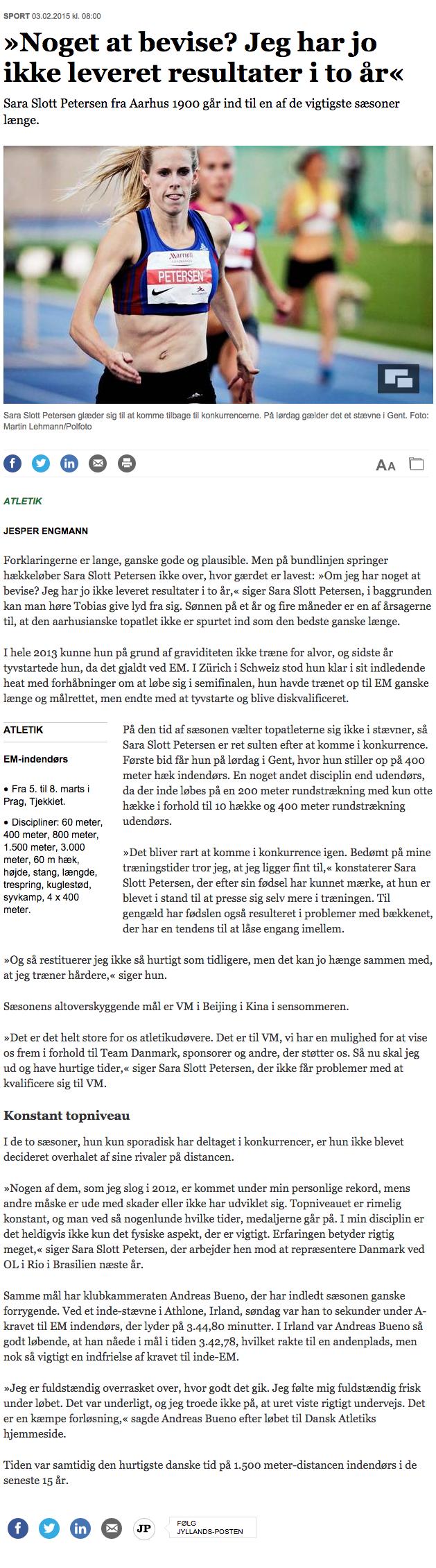 »Noget at bevise  Jeg har jo ikke leveret resultater i to år« - Sport - Aarhus